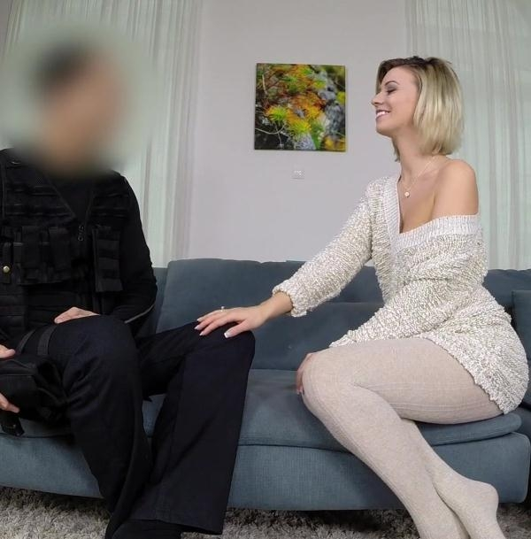 Vicky Love - Single MILF Seduces Policeman (FakeCop) [HD 720p]