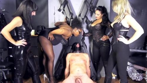 [Mistress Ezada & Other Dominas - Guess The Mistress : Spitting Game] FullHD, 1080p