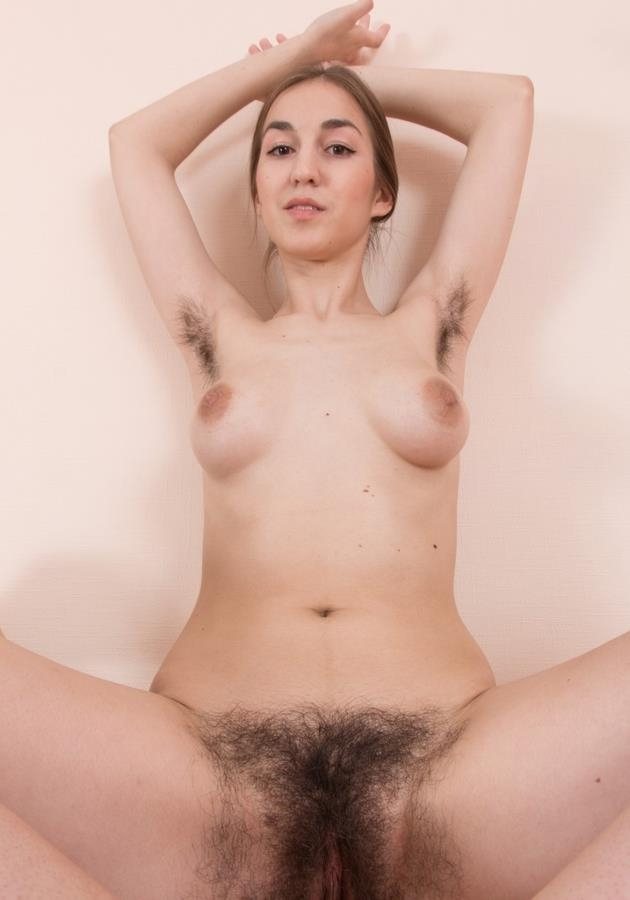 Halmia, 20 years old, Ukraine (WeAreHairy) HD 720p