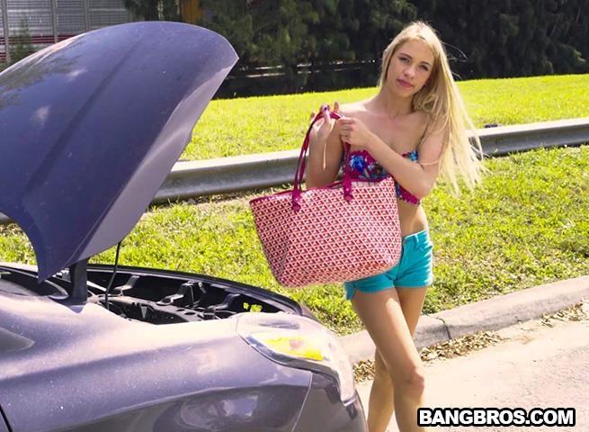 Khloe Kapri - Blonde in Distress is a Freak Unleashed [BangBus, BangBros] 480p