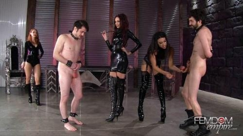 FE [Kendra James, Sablique Von Lux, Goddess Tangent - Mistress Pain Party] FullHD, 1080p