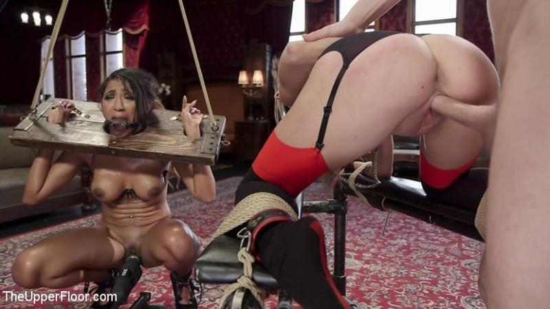 TheUpperFloor.com / Kink.com: Kacie Castle, Sadie Santana - The Sex Toy and The Whipping Girl [HD] (2.05 GB)