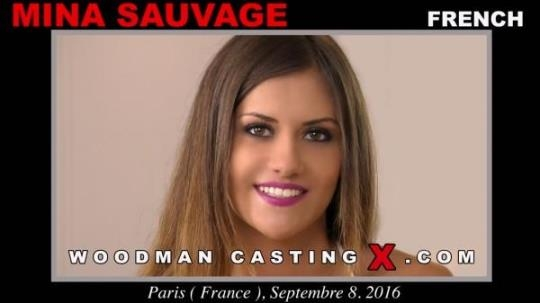 WoodmanCastingX: Mina Sauvage - Casting (SD/540p/751 MB) 24.02.2017