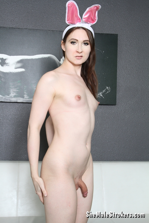 TS Jessica Fappit - Solo [SD 540p] - SheMaleStrokers.com
