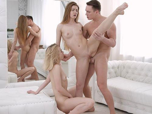 YoungSexParties.com [Via Lasciva and Melissa Grand - Hot anal threesome] SD, 480p