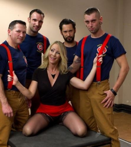 It takes five thick fire hoses to drench Simone Sonay's hot MILF cunt - Simone Sonay (SiteRip/HardcoreGangBang/SD540p)