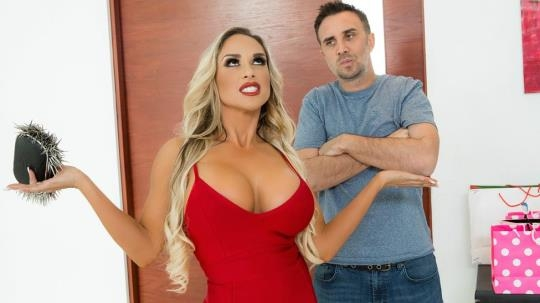 MommyGotBoobs, Brazzers: Tegan James - Tipping The Driver (SD/480p/317 MB) 12.02.2017