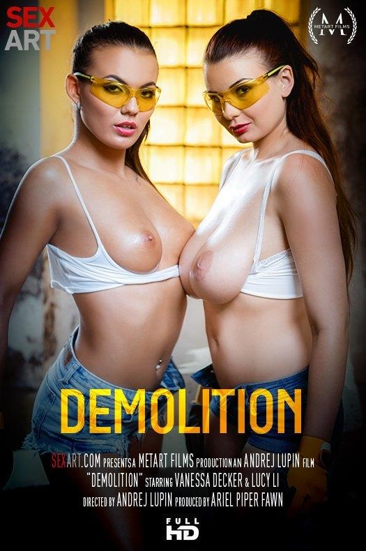 SexArt, MetArt: Lucy Li & Vanessa Decker - Demolition (FullHD/1080p/1.21 GB) 10.02.2017