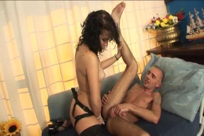Paola Pegs Tamas In The Ass After He Fucks Hers SD 480p
