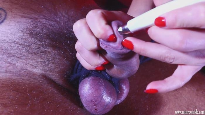 Mistress Iside - BALL AND COCK TORTURE FOR A MAGICAL CHRISTMAS (Mistressiside) FullHD 1080p