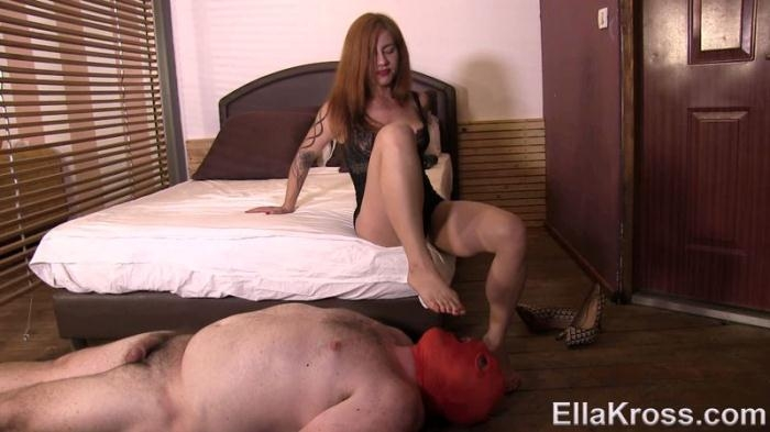 Punishing My Slave With Foot Domination (EllaKross) FullHD 1080p