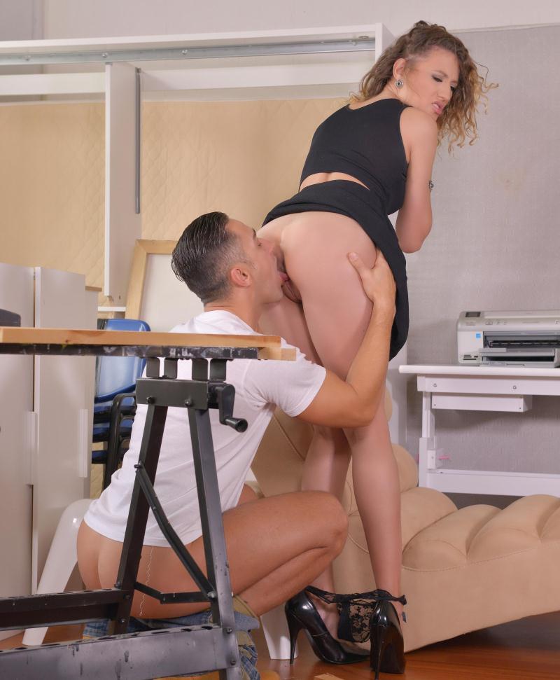Stasy Riviera ~  A Workmans Dream: Russian Goddess Gets Her Pussy Fucked!  ~  HandsonHardcore ~  HD 720p