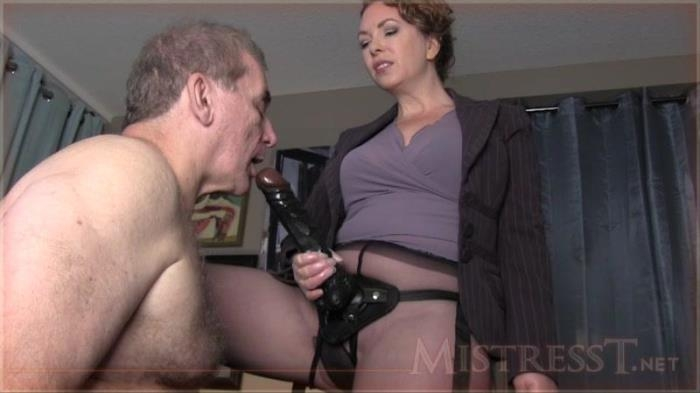 MistressT.net - Ass To Mouth BBC Loving Slave [HD, 720p]