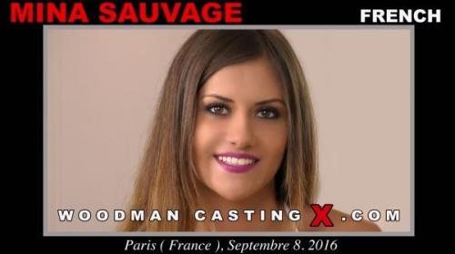 Mina Sauvage - Casting (24.02.2017/WoodmanCastingX.com/SD/540p)