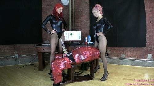 Brat Princess 2 / Clips4sale.com [Alexa and Amadahy - End of Shift Program Removes Erection] HD, 720p