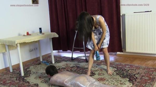 Fetch My Foot Odor - ElegantFemdom.com / Clips4sale.com (FullHD, 1080p)