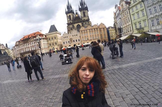 Lasublimexxx: Yukikon - Yuki's vlog in Praga (FullHD/2017)