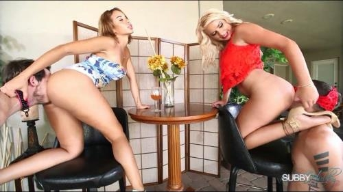 SubbyHubby.com [Cherry & Kylie Tip The Waiter] SD, 480p