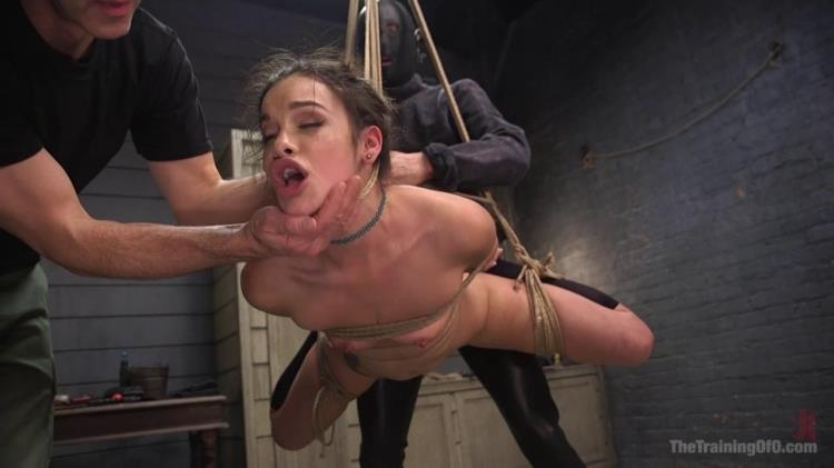Eden Sin - Bondage Slut Eden Sin Submits to Deep Anal Discipline Training / 28.02.2017 [Kink, TheTrainingOfO / HD]
