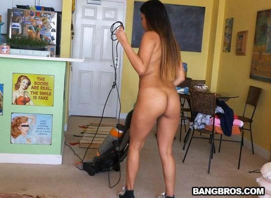MyDirtyMaid, BangBros: Nicole Rey - Cleaning Up With Nicole (SD/480p/461 MB) 19.03.2017
