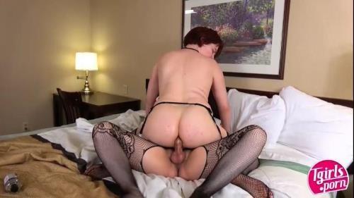 Tgirls.porn [Jamie Erin & Sammie Shephard] SD, 480p