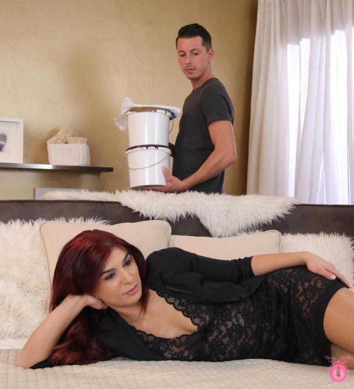 Jessica Red- Horny MILF seduces young handyman  [HD 720p] MomXXX