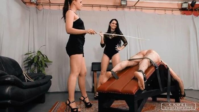 Mistress Anette and Lady Kittina - Late night punishment (CruelPunishments) HD 720p