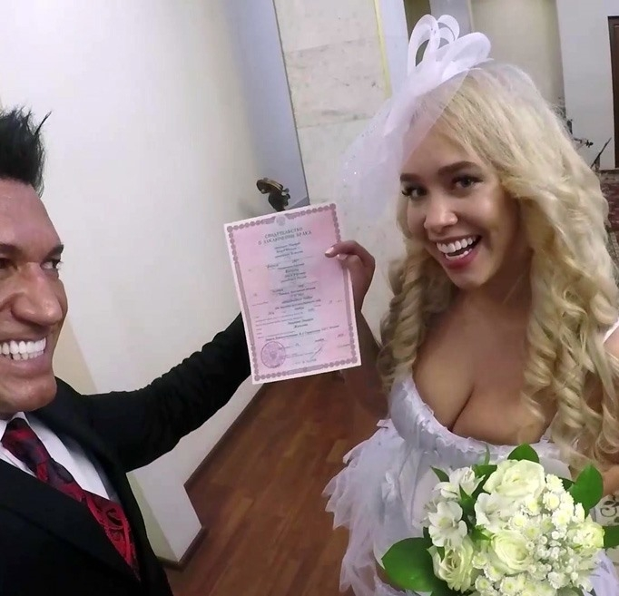 Briana Banderas- Wedding night  [FullHD 1080p] POV