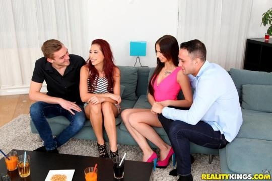 EuroSexParties, RealityKings: Christy Charming and Selena Mur - Fiery Hot (SD/432p/363 MB) 20.03.2017