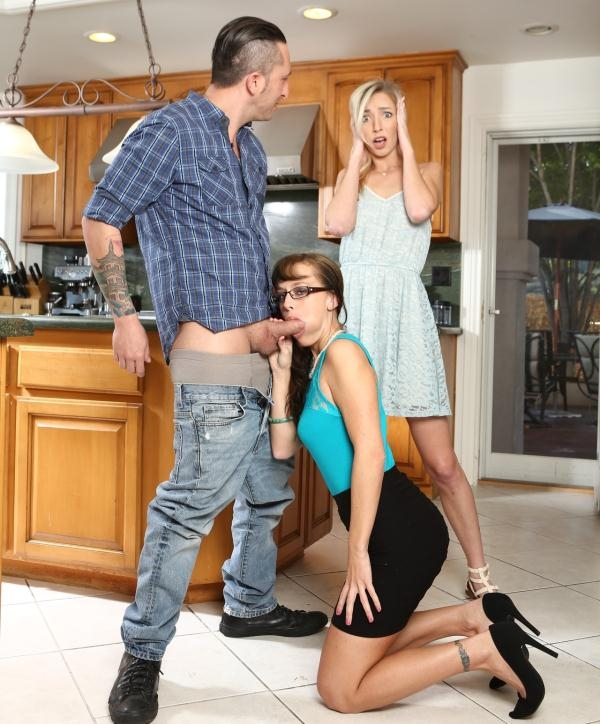 Alana Cruise, Zoe Parker - My Wife Caught Me Ass Fucking Her Mother 10, Scene 3 (DevilsFilm) [HD 720p]
