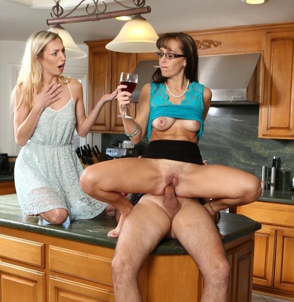 Alana Cruise, Zoe Parker - My Wife Caught Me Ass Fucking Her Mother 10, Scene 3 (DevilsFilm) [FullHD 1080p]