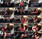 FuckedInTraffic, PornDoePremium: Tina Kay - Sexy British babe Tina Kay gives footjob and gets cum covered in the cab (SD/480p/448 MB) 18.03.2017