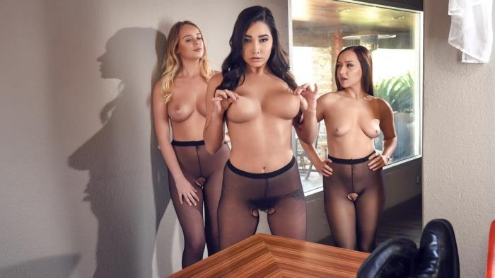 BigTitsAtWork.com / Brazzers.com - Karlee Grey - Hoes in Pantyhose [SD, 480p]