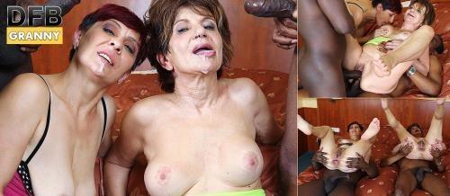DFBnetwork.com [Katala, Bella - Slutty Grannies First Time Black DP] HD, 720p