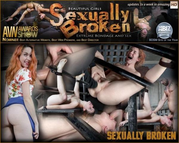 Amarna Miller is bound on her back and fucked from both ends, brutal face fucking and orgasms! - SexuallyBroken.com (SD, 540p)