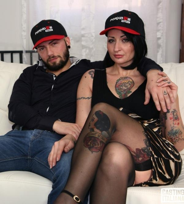 Lady Muffin - Hot tattooed Italian Lady Muffin squirts like crazy in hardcore casting (CastingAllaItaliana) [HD 720p]