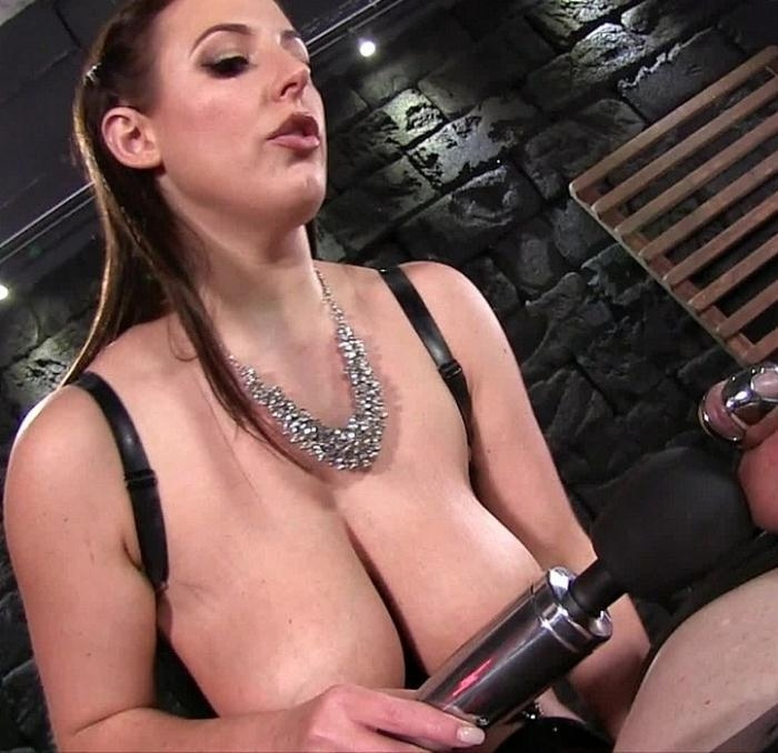 Amy White - Chastity Milking Eruption  [FullHD 1080p]