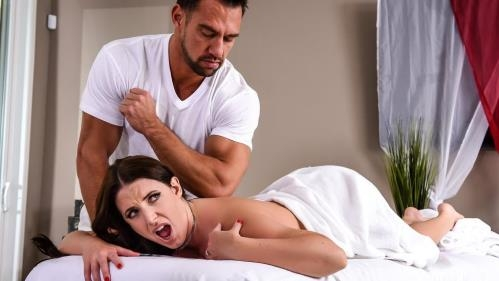 DirtyMasseur.com / Brazzers.com [Angela White - The Wrong Massage Feels So Right] SD, 480p