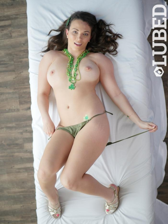Lily Love- Lily Gets Lubed for St. Pattys  [HD 720p] Lubed