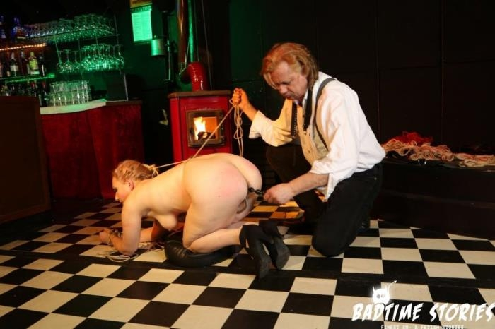 Mary O - Intense bondage and domination with obedient German slave Mary O PT 2 (Badtimestories, Porndoepremium) FullHD 1080p