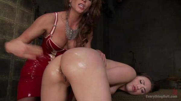 Ariel X and Casey Calvert - Trail by Ass fucking. Bewitched Asshole gets a medieval punishment [EverythingButt.com] (SD, 540p)