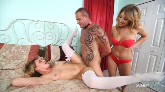 SubbyHubby: Kelly Paige, Mickey Tyler - Enslaved Stepfather to Lesbians 3: Stepfather Fuck-Toy (FullHD/1080p/709 MB) 05.03.2017