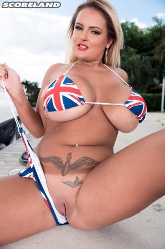 PornMegaLoad.com / Scoreland.com [Katie Thornton - Rule, Britannia Bikini!] HD, 720p