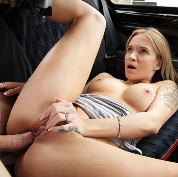 Angel Piaff - Tourist Pays Taxi Fare with Cum (FemaleFakeTaxi) [HD 720p]