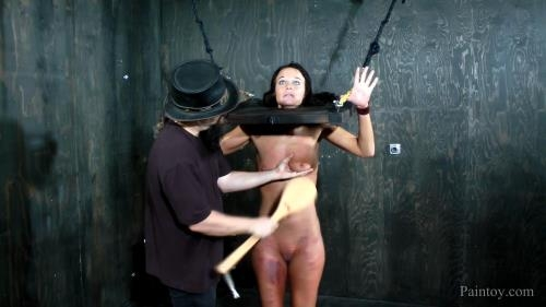 Paintoy.com [London River Orgasms, Paddles and Clamps] FullHD, 1080p