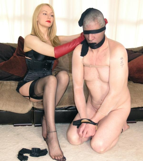 Mistress Eleise - Bound in Nylons (English Mansion) [HD 810p]