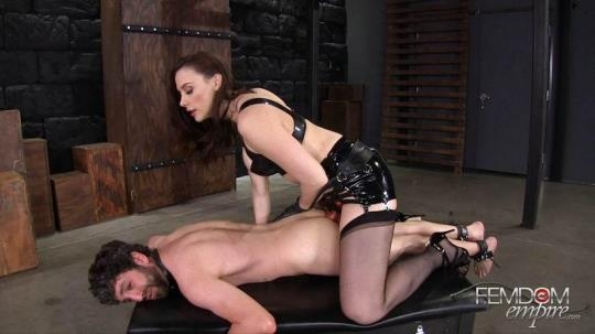 FemdomEmpire: Chanel Preston - Stretched & Ass Locked (FullHD/1080p/1.59 GB) 10.03.2017