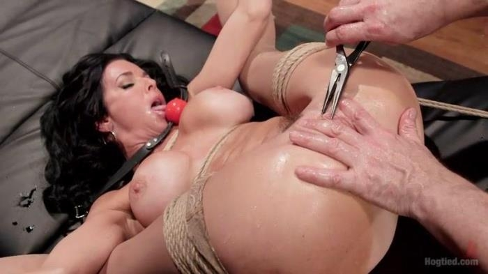 Veronica Avluv - Nympho Anal MILF Double Penetration Squirt Fest (HogTied) SD 540p