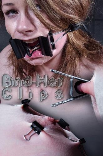 Harley Ace - Bind-her Clips [SD, 480p] [InfernalRestraints.com]