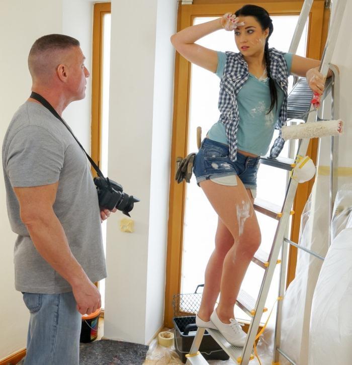 Dyllon Day, Taissia Shanti - Sexy Russian painter Taissia Shanti gets POV drilling from photographer [HD 720p]